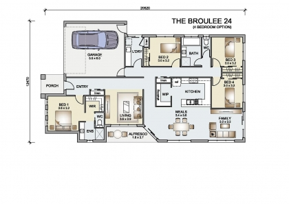Broulee 24 (4 Bed)