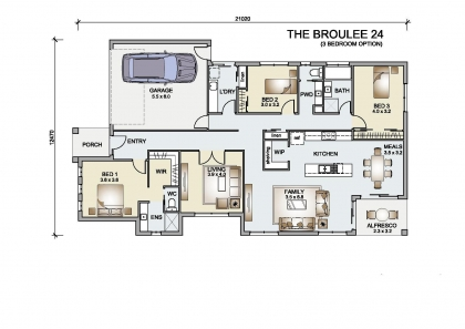 Broulee 24 (3 Bed )
